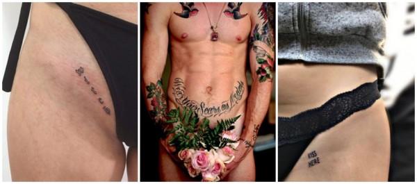 tatuagens íntimas com frases