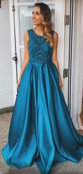 vestido de madrinha azul petróleo