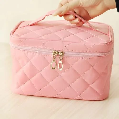 frasqueira cor de rosa