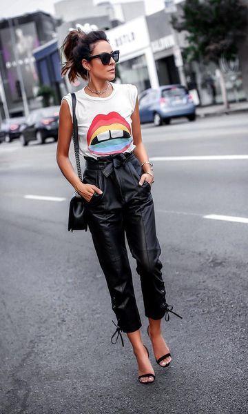 look street style com calça