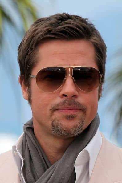 Brad Pitt com cavanhaque