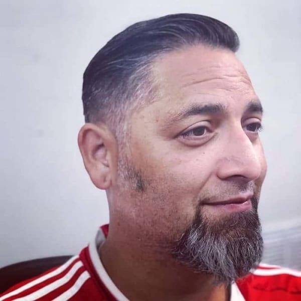 Barba sem Bigode cavanhaque