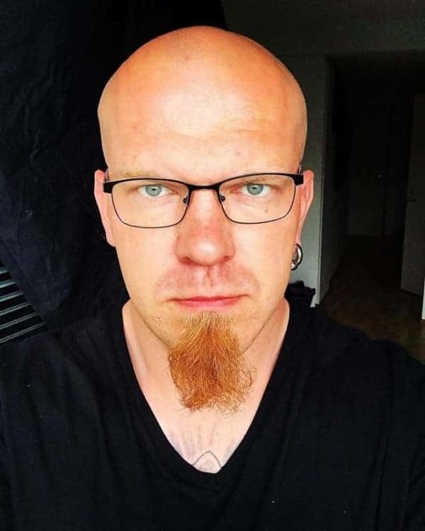 Barba sem Bigode ruiva