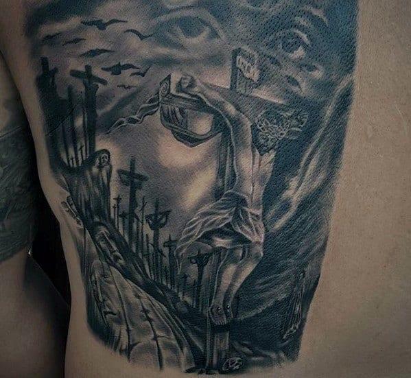 Jesus tatuagem 3D