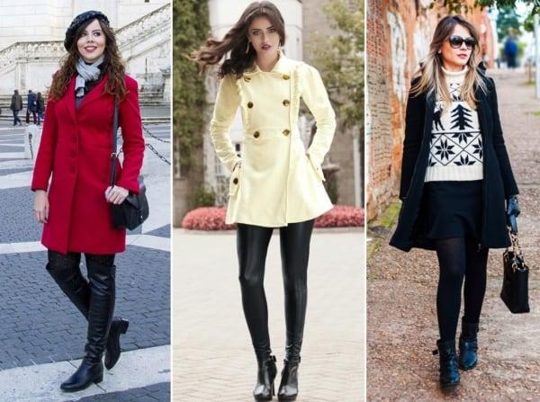 Looks de inverno femininos