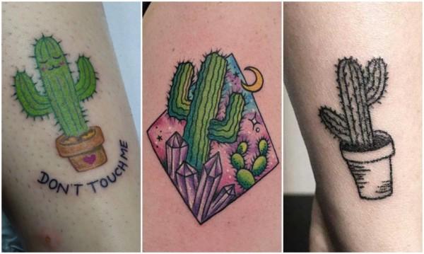 Modelos de tatuagem de cacto 4