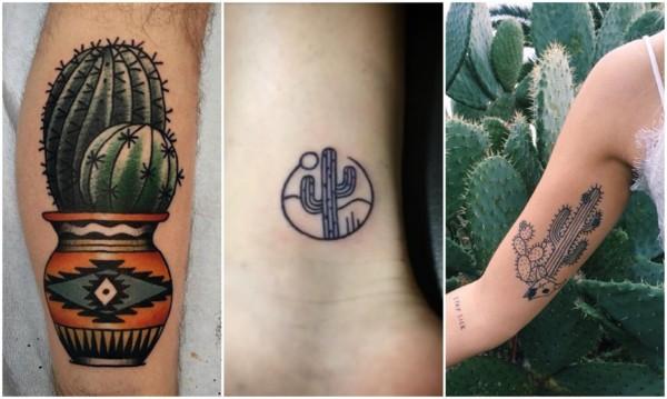 Modelos de tatuagem de cacto
