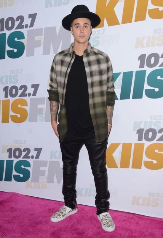 Slip On masculino estampado do Justin