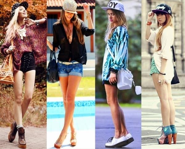 Sugestões de looks com boné para mulheres