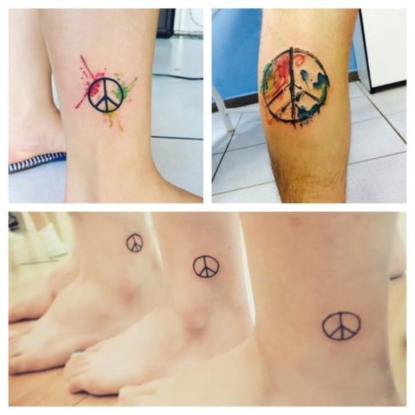 Tatuagem Paz