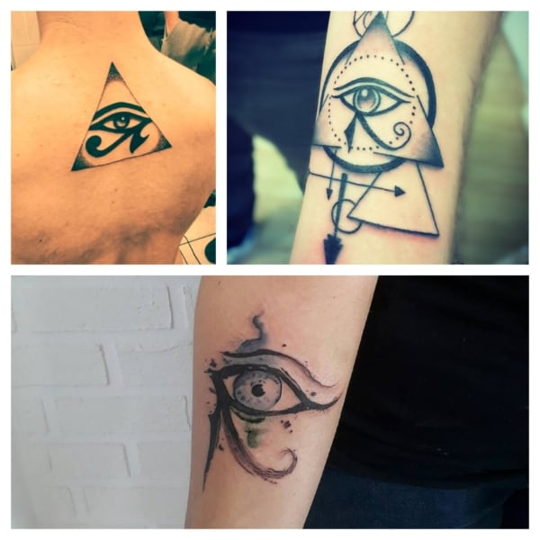 Tatuagem olho de horus