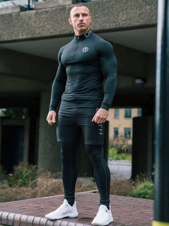 calça masculina para academia