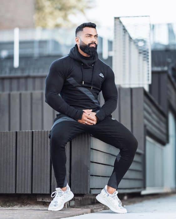 calça preta para academia