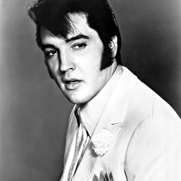 costeleta masculina do Elvis