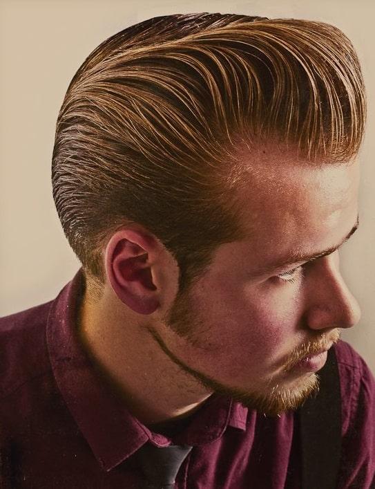 costeleta masculina vintage