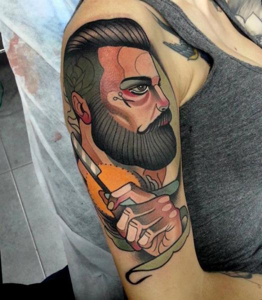 dicas de tatuagem new school