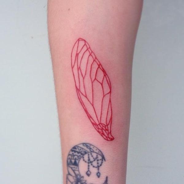 ideias de Tatuagem Vermelha