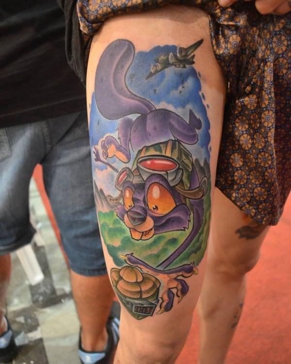ideias de tatuagem new school