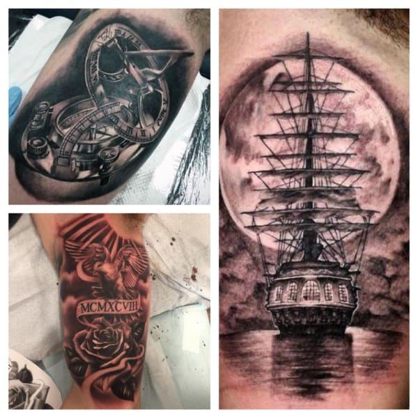 ideias de tatuagem no biceps
