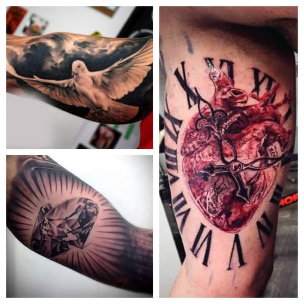 ideias de tatuagens no biceps