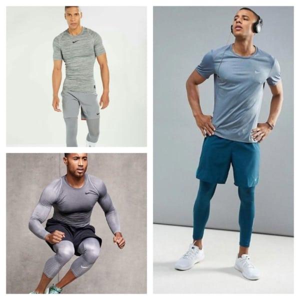 roupas de academia masculina Nike