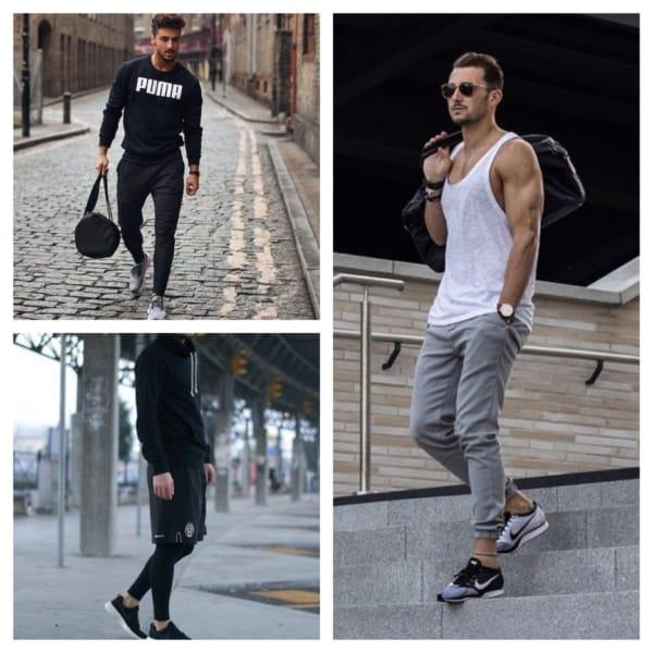 roupas de academia masculina
