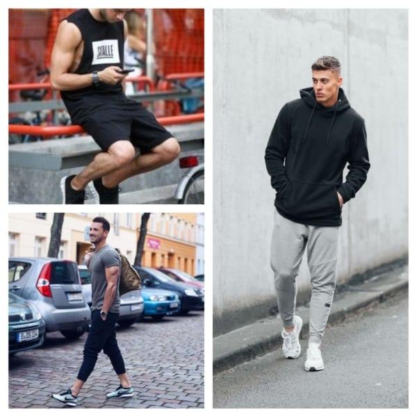roupas de academia para homens