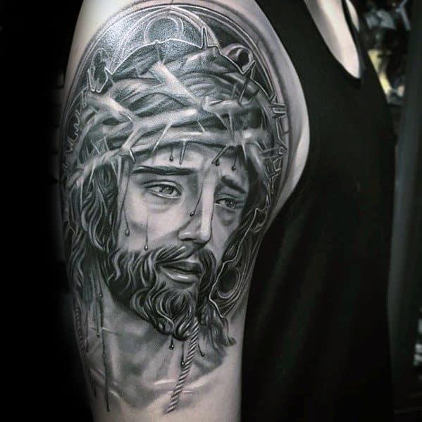 tattoo de Jesus 3D