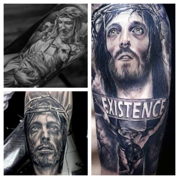 tattoo de Jesus