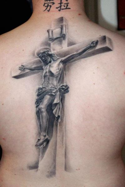 tatuagem de Jesus na cruz inspiração 1
