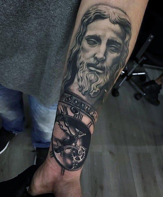 tatuagem de jesus 3D