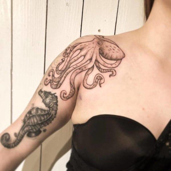 tatuagem de polvo feminina dicas