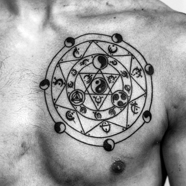tatuagem equilíbrio