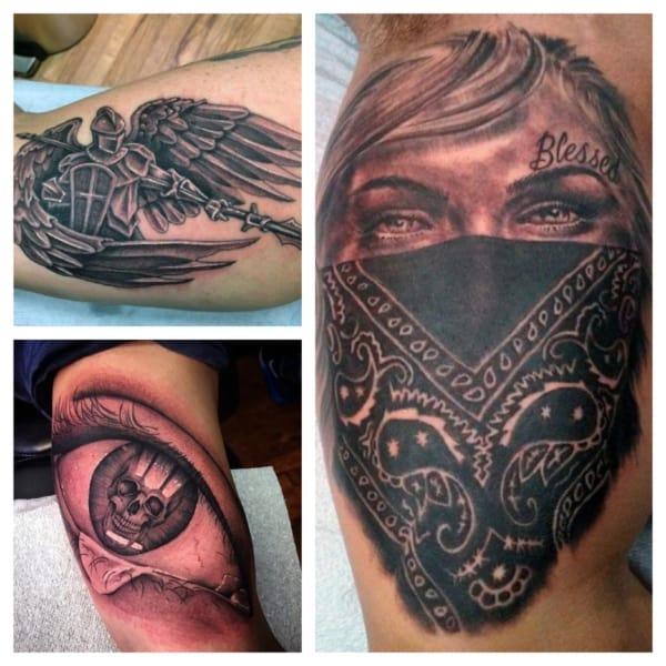 tatuagem no biceps
