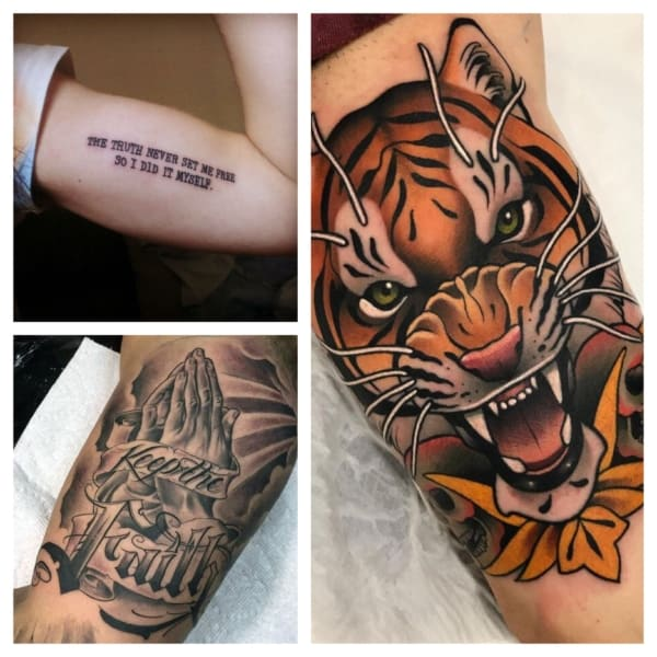 tatuagens no biceps