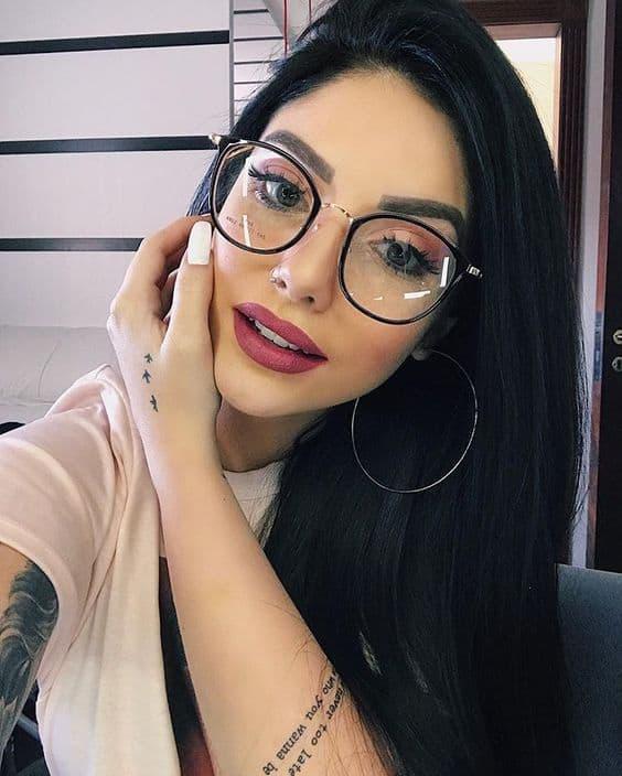 Óculos para combinar com looks Tumblr