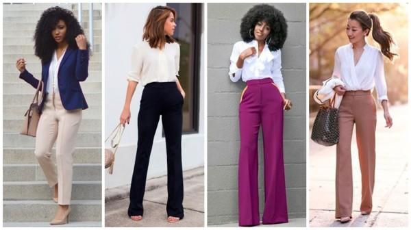 Calça social feminina – 71 looks modernos e elegantes para amar!
