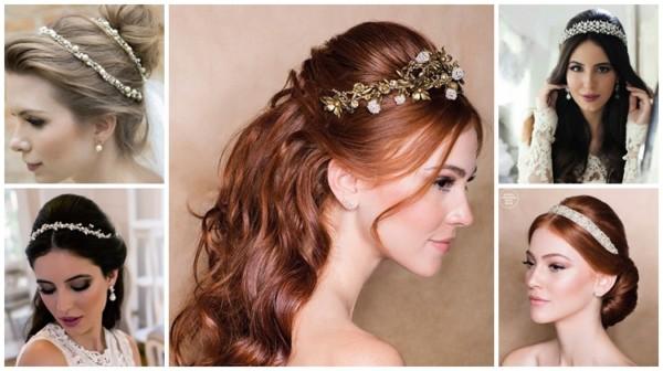 Tiara de noiva – 60 modelos incríveis para usar no casamento!