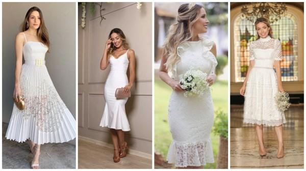Vestido de noiva para casamento civil – 66 modelos incríveis!