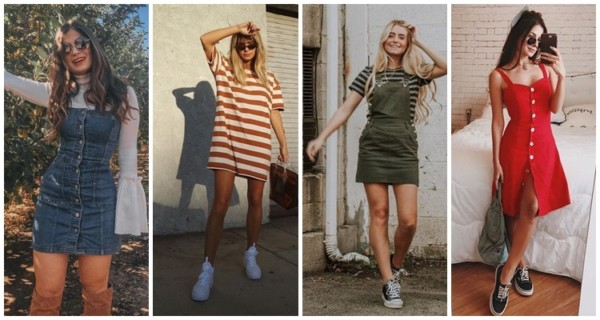 Vestidos Tumblr – 51 Modelos maravilhosos + Dicas de como usar!