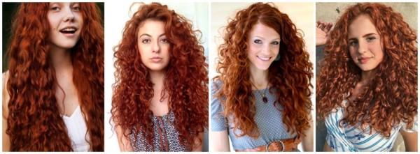 cabelo ruivo cacheado longo