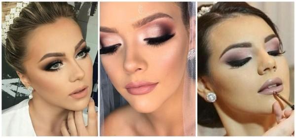 maquiagem de noiva para casamento de noite