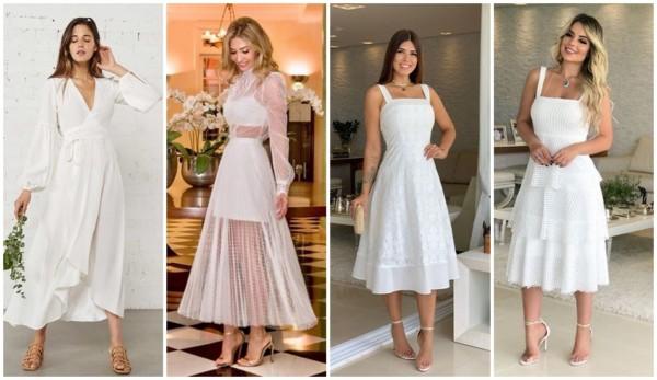 modelos de vestido de noiva midi para casamento civil