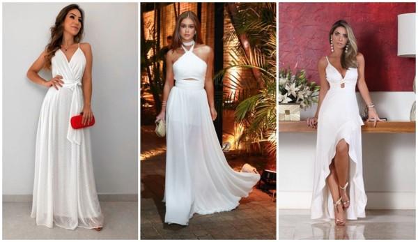 modelos de vestido de noiva longo para casamento civil