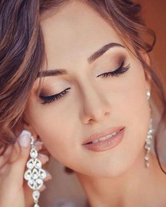 maquiagem de noive leve para casamento de dia