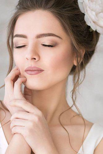 maquiagem suave e simples para noiva