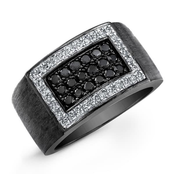 anel preto masculino