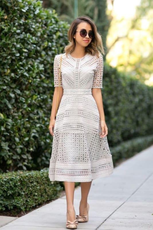 vestido de noiva moderno para evangélica