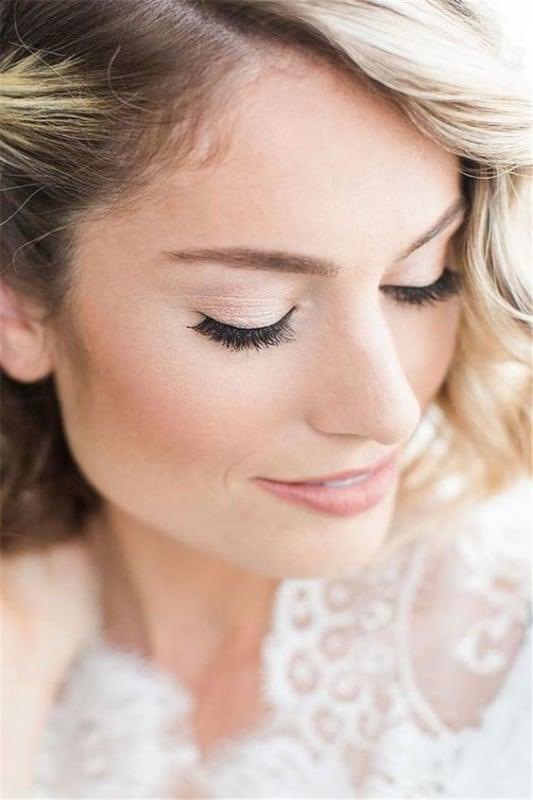 maquiagem iluminada para noiva