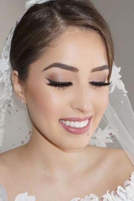 maquiagem delicada para noiva